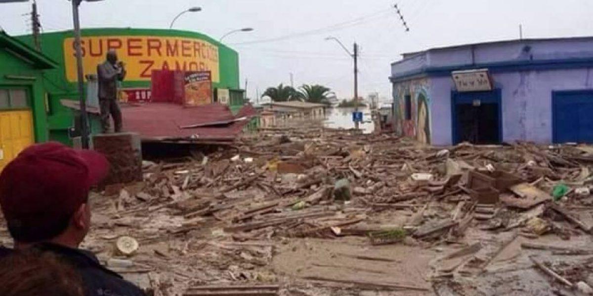 Bachelet por temporal en el Norte: