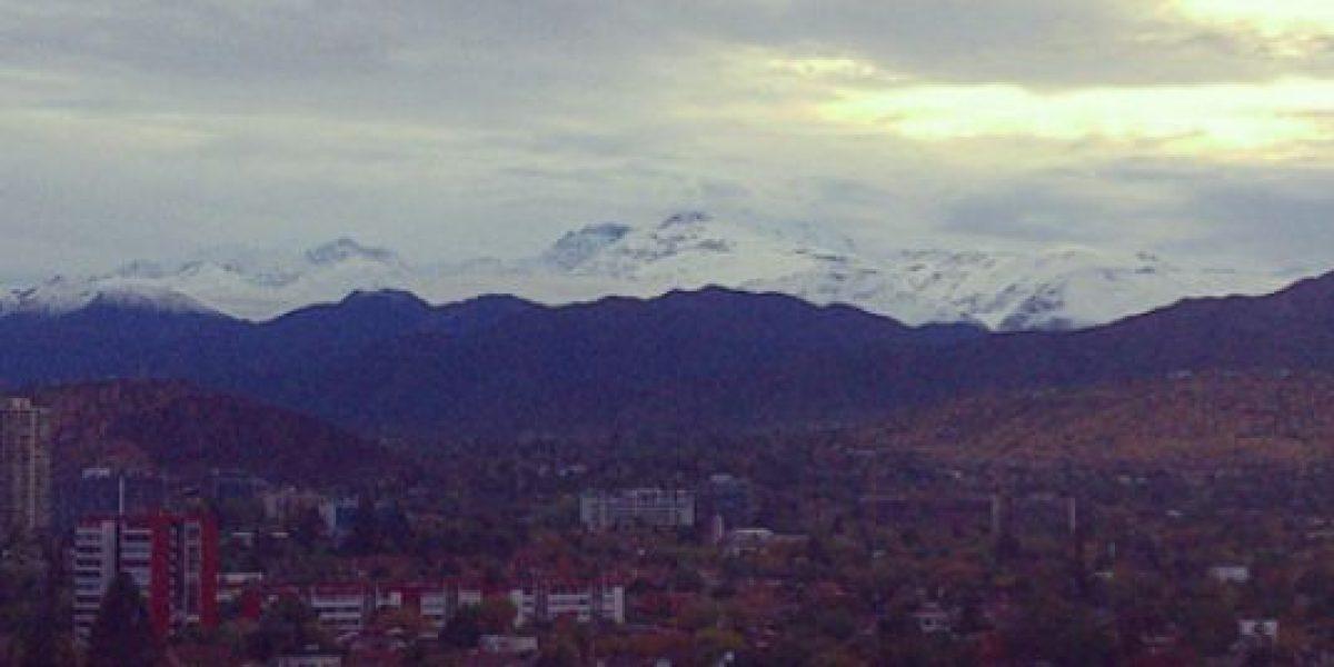 Impresionante: así se ve la Cordillera en HD tras lluvias en Santiago