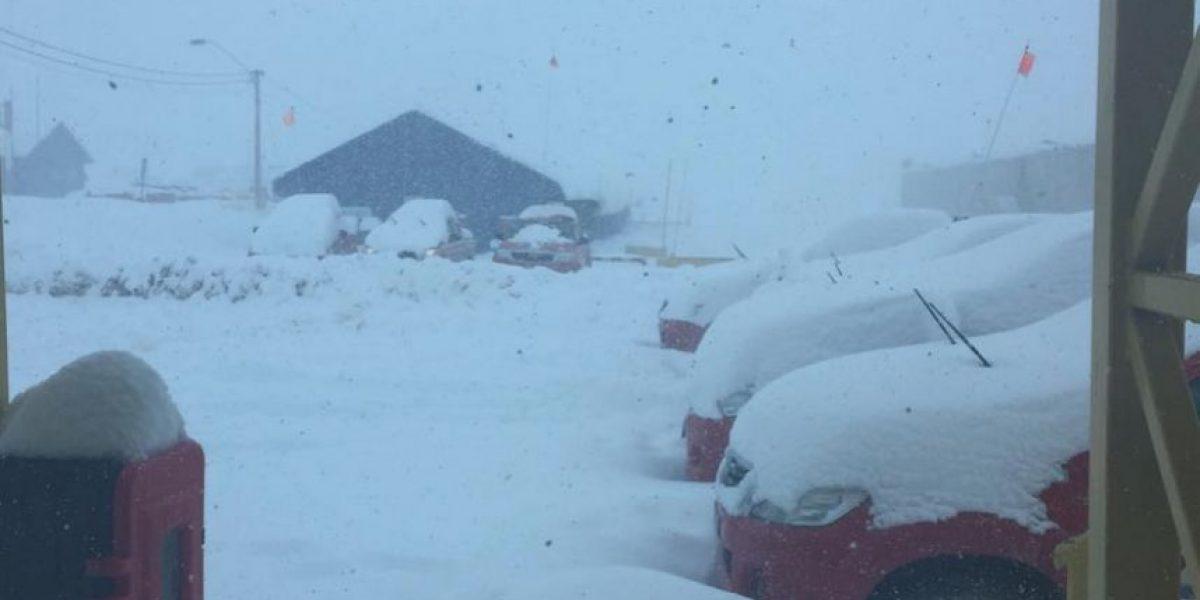 Trabajadores continúan aislados en cordillera de Atacama por fuertes nevazones