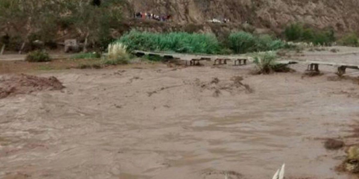 Tragedia en el Norte: Río Elqui se desborda en diversos sectores tras temporal