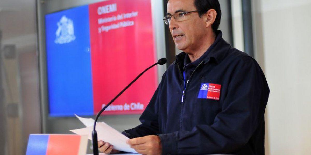 Onemi se defiende tras polémica por supuesto informe de Meteorología que advertía del temporal