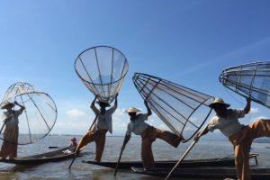 Tomada por Francis O. en Inle Lake, Mianmar, con la cámara. Foto:Apple. Imagen Por: