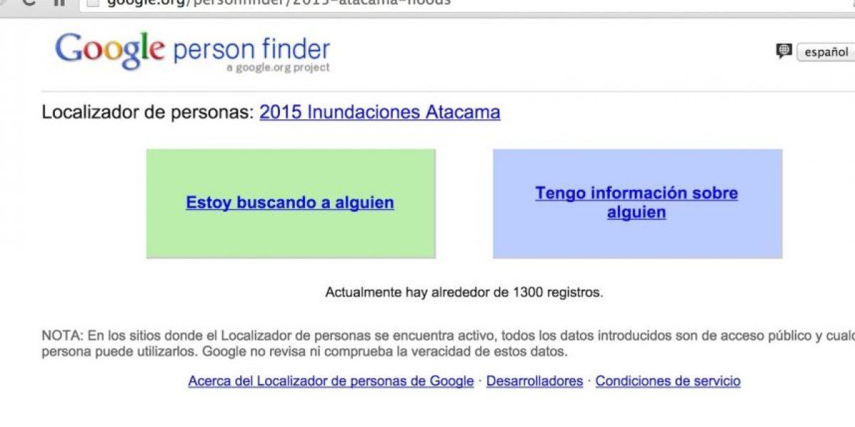 Google ayuda a buscar desaparecidos por las inundaciones en Chile