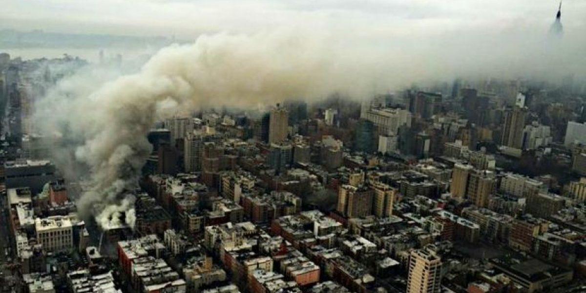 FOTOS: Así se vivió el derrumbe de un edificio en Nueva York