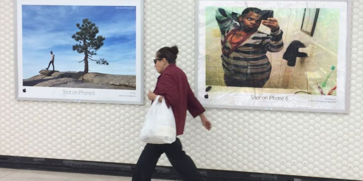FOTOS: La divertida campaña que se burla de las fotos tomadas con el iPhone 6