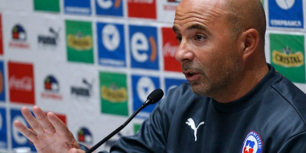 Sampaoli reiteró que no descarta dejar la Roja tras Copa América