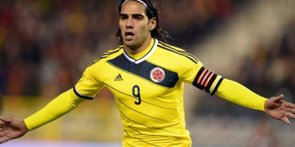 Radamel Falcao lideró la abultada goleada de Colombia frente a Bahrein