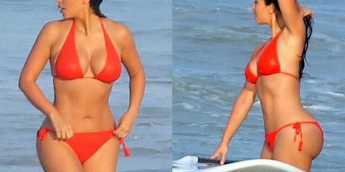 FOTOS: ¿Cuál de las Kardashian luce mejor en traje de baño?