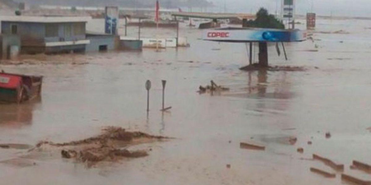 Tres mil personas son evacuadas en Chañaral