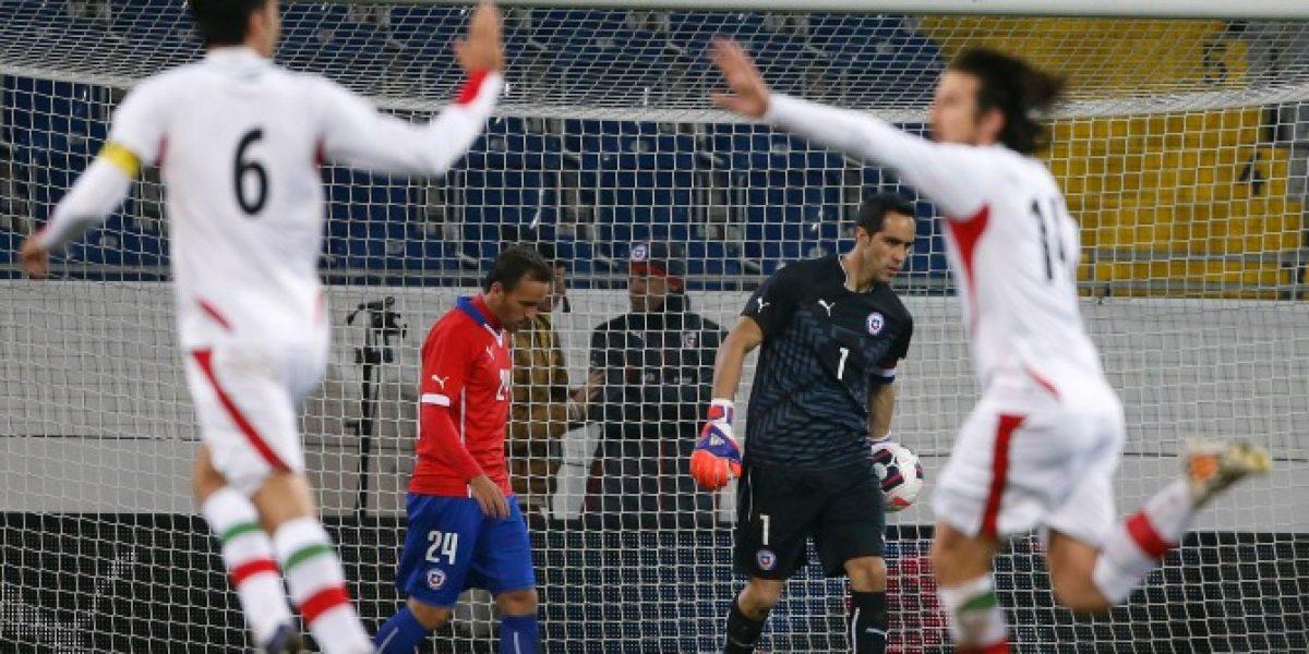 Así vivimos la sorprendete derrota de Chile ante Irán en Austria