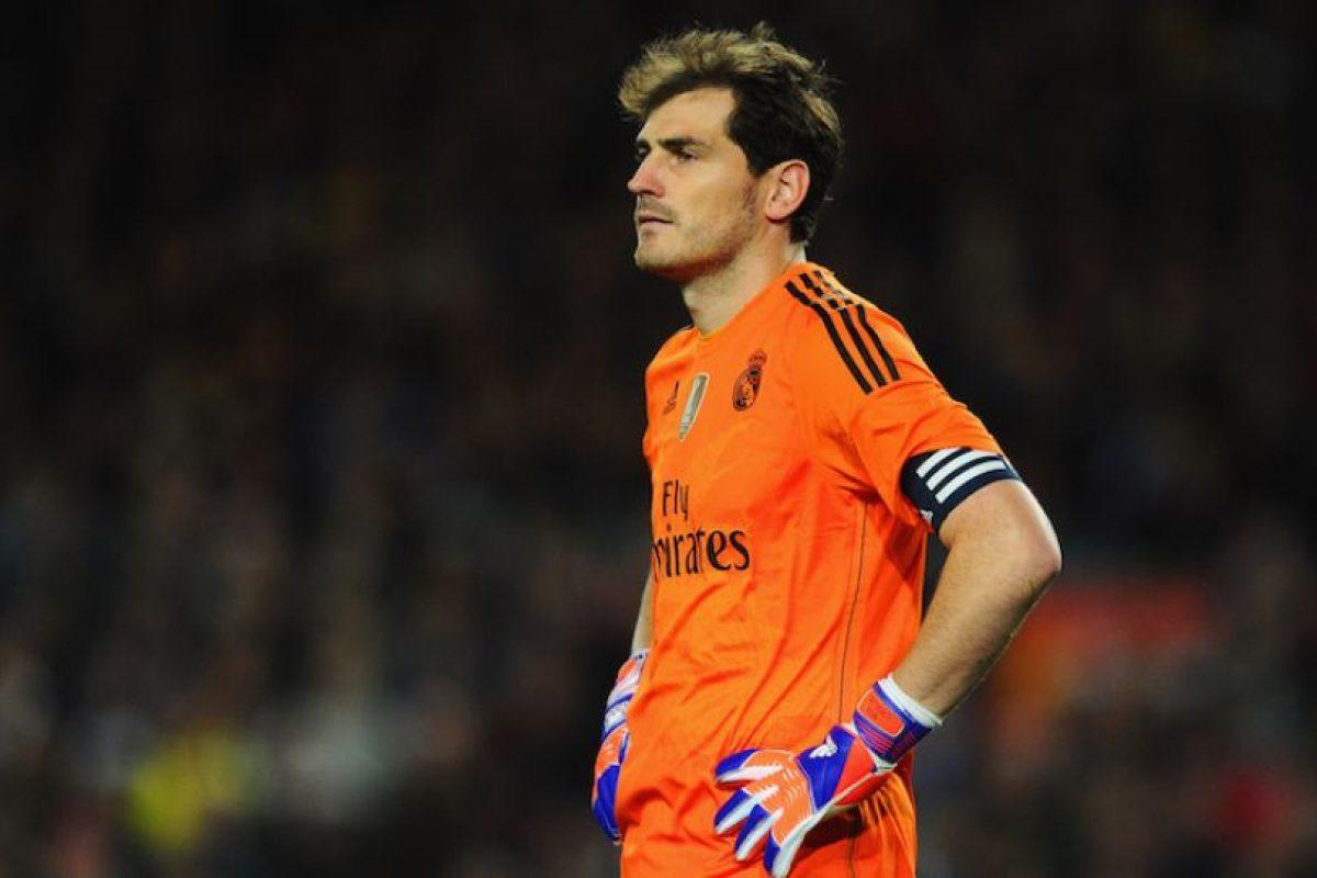 Iker Casillas fue señalado por Villiam Vecchi, entrenador de porteros del Real Madrid, como responsable en el gol de Luis Suárez que le dio la victoria al Barcelona en el Clásico. Foto:Getty Images. Imagen Por: