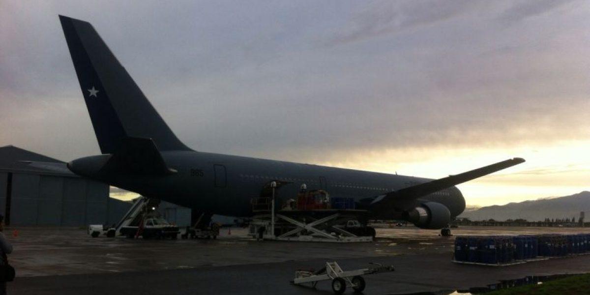 Fuerzas Armadas enviaron apoyo a las zonas afectadas desde base de la Fach