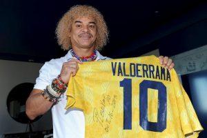 """Carlos Valderrama, mejor conocido como """"El Pibe"""". Foto:Getty Images. Imagen Por:"""
