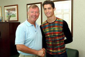 Quien sí lo quiso en su equipo de manera inmediata fue Alex Ferguson, que lo llevó en 2003 al Manchester United. Foto:Getty Images. Imagen Por: