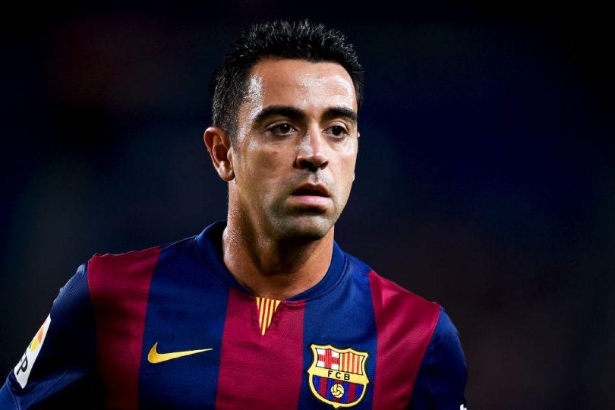 Xavi Hernández llegó al Barcelona desde muy pequeño, se formó en las inferiores del club y debutó en el primer equipo en 1998. Foto:Getty Images. Imagen Por: