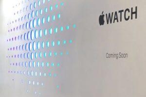 Se trata del primer reloj inteligente de Apple. Foto:Getty Images. Imagen Por: