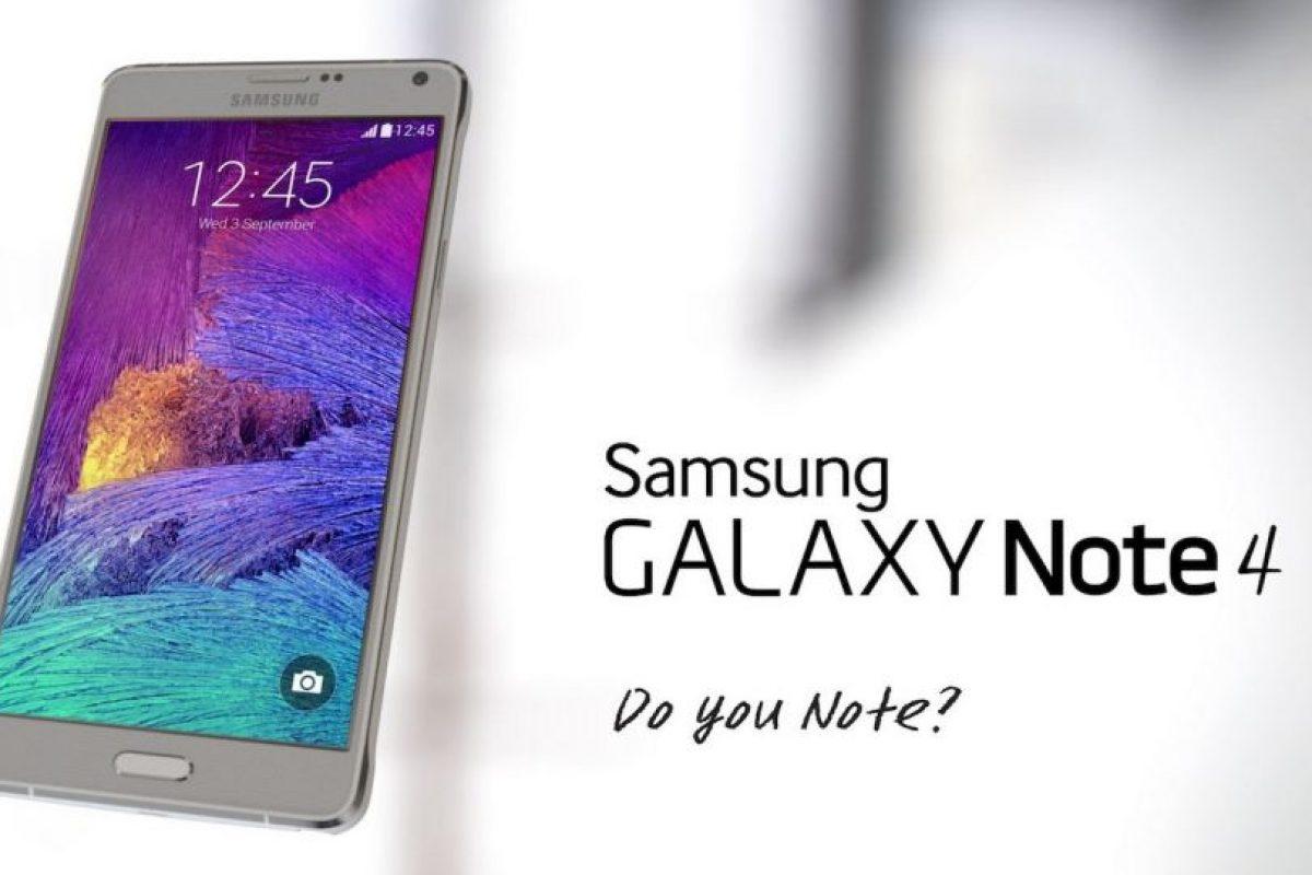 Samsung Galaxy Note 4 Foto:Samsung. Imagen Por: