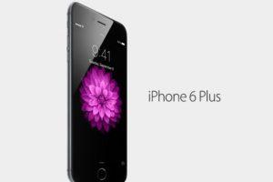 iPhone 6 Plus Foto:Apple. Imagen Por: