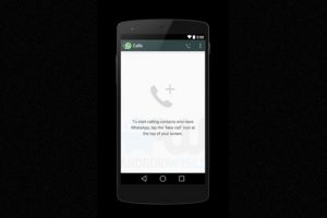 La interfaz cuando no han realizado llamadas. Foto:Android World. Imagen Por: