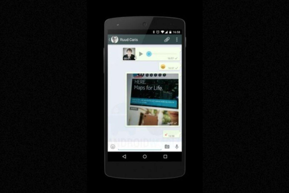 Los chats son idénticos. Foto:Android World. Imagen Por: