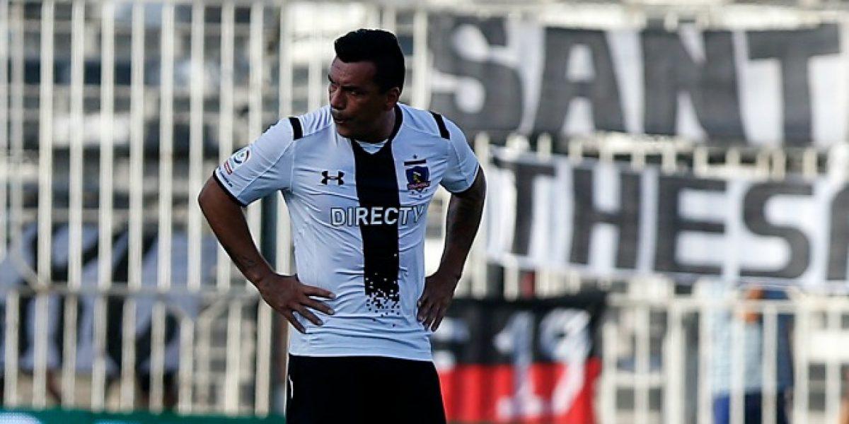 Esteban Paredes se resigna a la Roja: