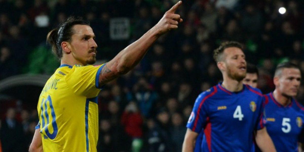 Video: ¡También tiene obras bizarras! El increíble gol de Zlatan sobre Moldavia