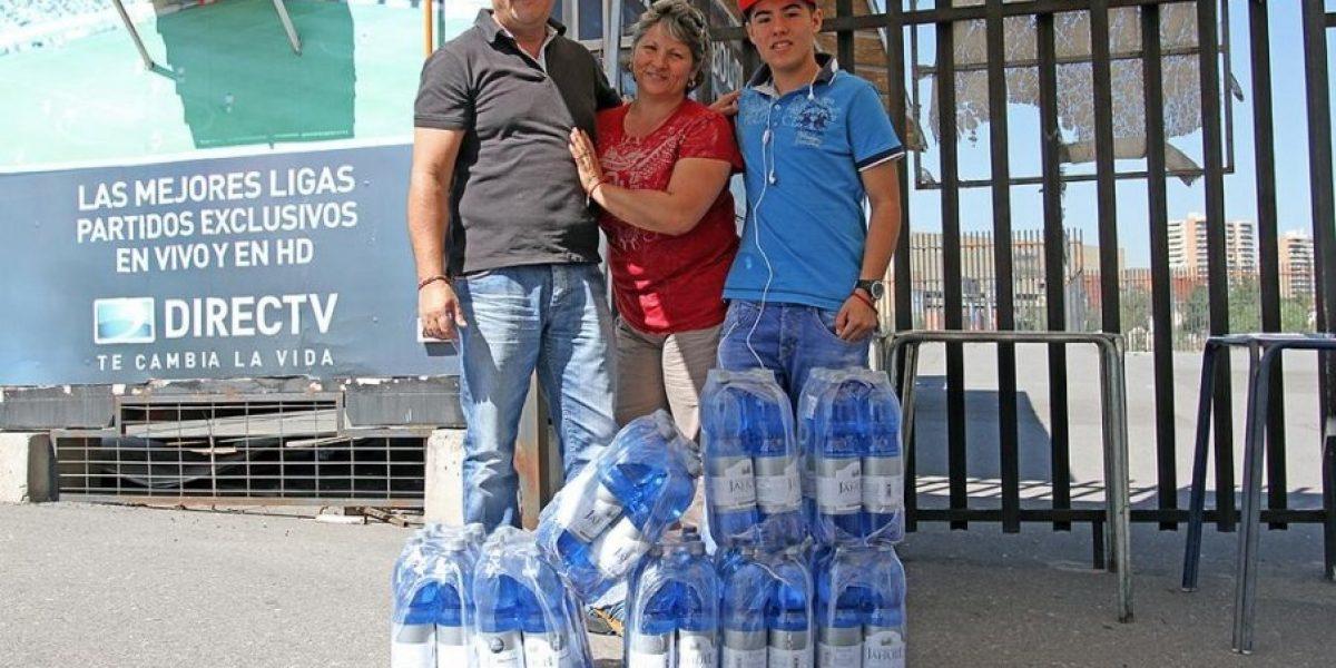 Colo Colo inicia campaña de recolección de agua para los damnificados del norte