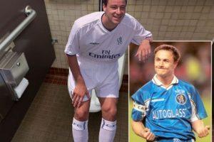 Se burlan en las redes de la confesión del capitán del Chelsea Foto:Twitter. Imagen Por: