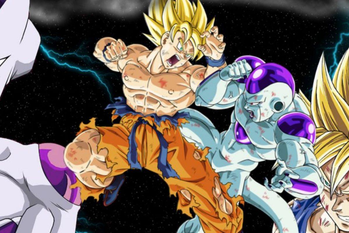 La batalla de Freezer y Gokú (la primera) duró 3 horas y media, siendo la más larga de la historia del Anime Foto:Toei. Imagen Por: