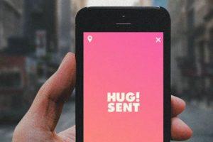 Esta nueva forma de mantener el contacto puede competir con los emojis. Foto:HUG APP LTD. Imagen Por: