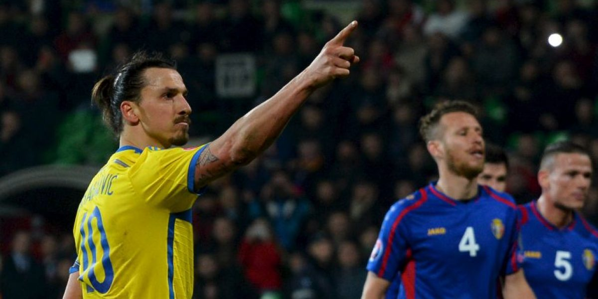 VIDEO: Zlatan anotó el gol más fácil de su carrera