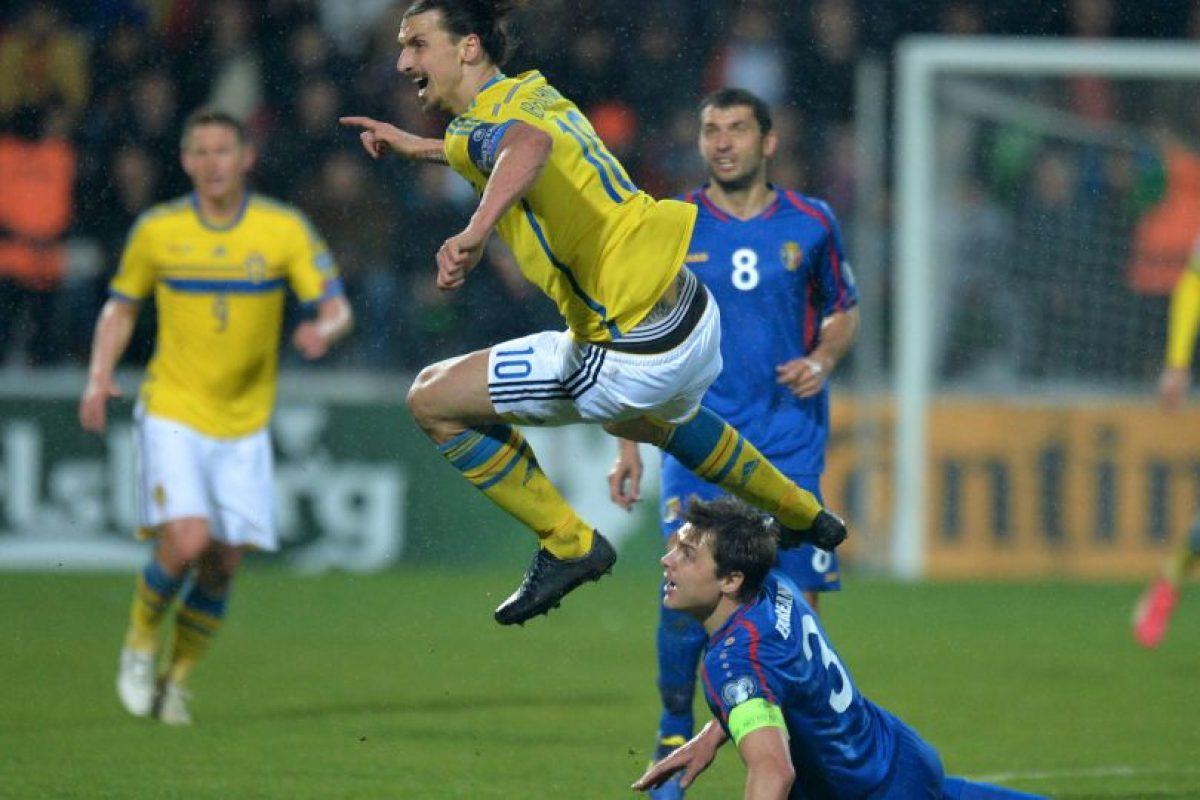 Tras la victoria, Suecia marcha en segundo lugar del Grupo G, con nueve puntos. Foto:AFP. Imagen Por: