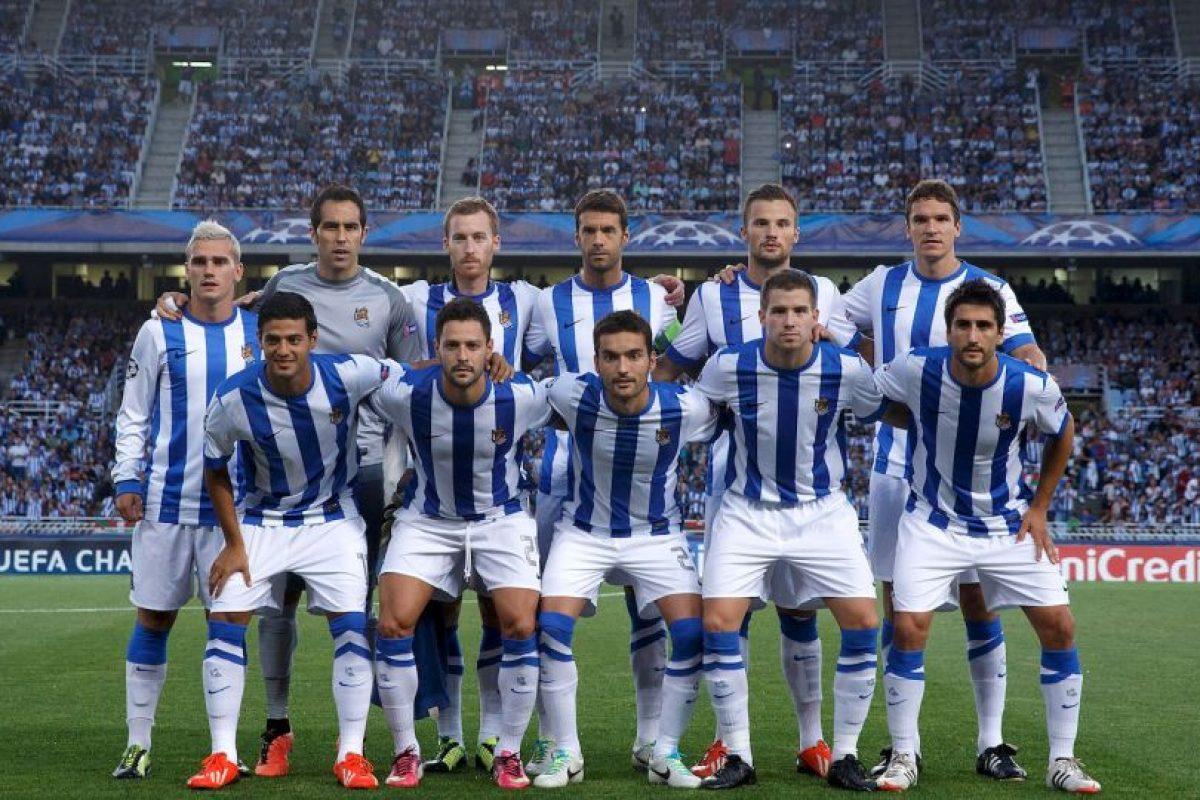 3. Real Sociedad (España). Ocupa el tercer puesto con ingresos de 62.2 millones de euros. Foto:Getty Images. Imagen Por: