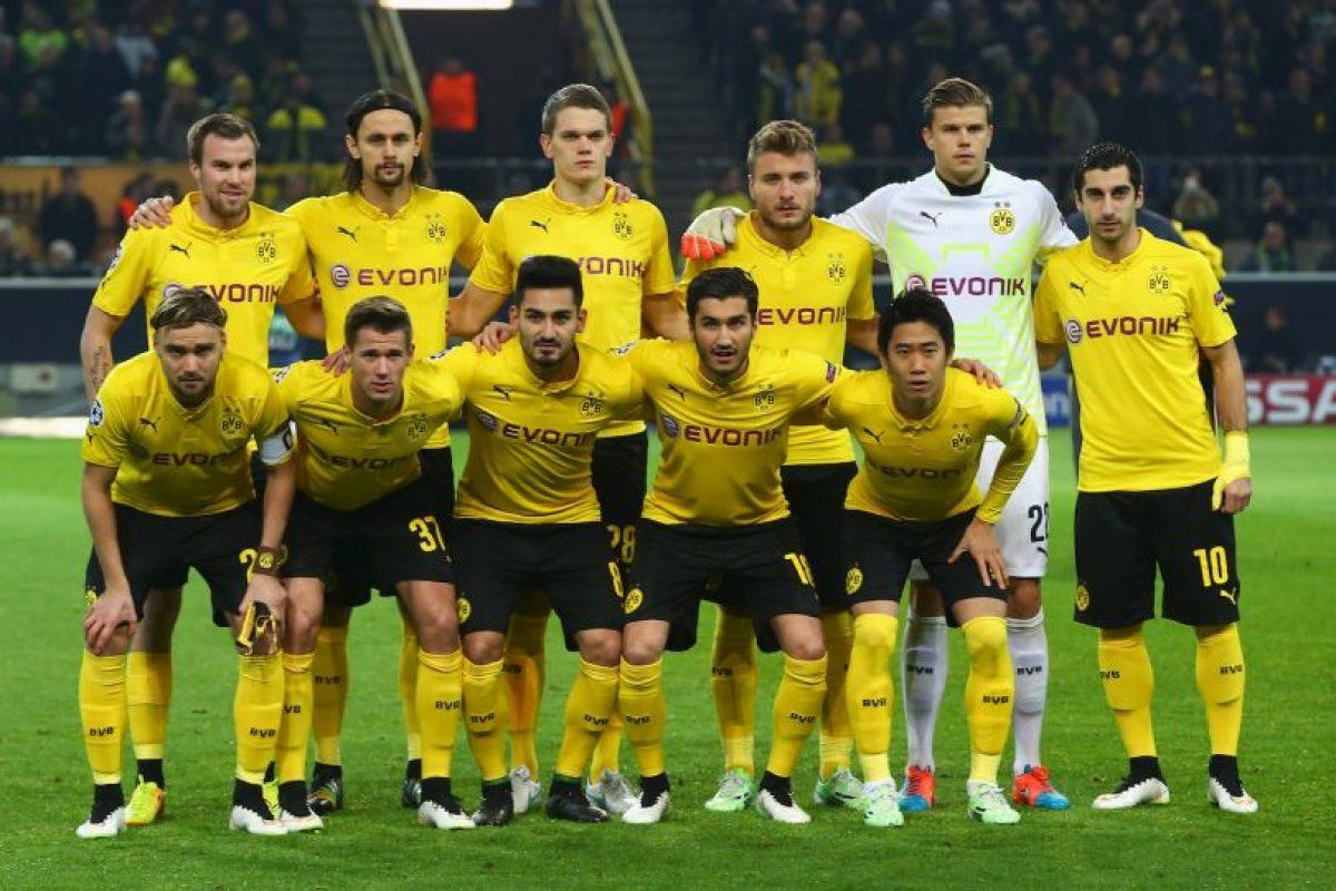 5. Borussia Dortmund (Alemania). Ocupa la quinta posición con 43.5 millones de euros. Foto:Getty Images. Imagen Por: