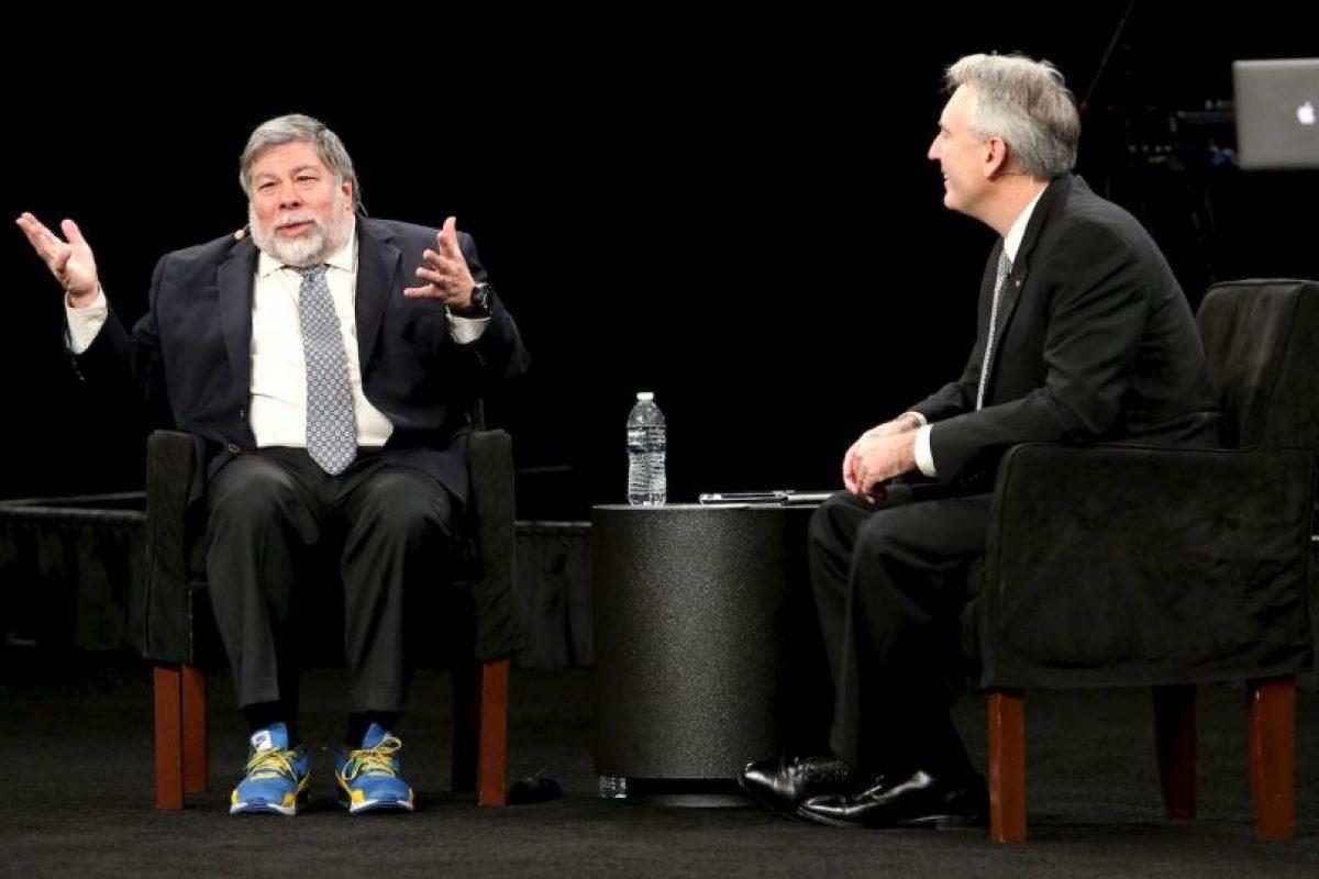 """Stephen Gary """"Woz"""" Wozniak criticó lo ostentoso que resultan algunas versiones del Apple Watch, que serán lanzados el próximo 10 de abril. Foto:Getty. Imagen Por:"""