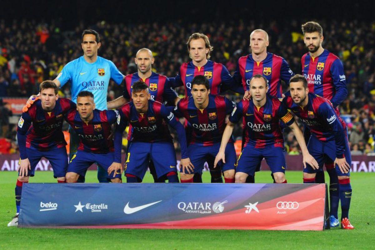 7. Barcelona (España). Con 38.8 millones de euros completan el ranking. Foto:Getty Images. Imagen Por: