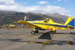 Aviones destinados al control de las llamas Foto:Twitter. Imagen Por:
