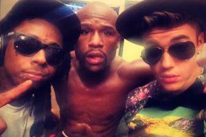 """Retó a Sergio """"Maravilla"""" Martínez porque Floyd es su amigo y """"cualquiera que se meta con él lo voy a golpear hasta que mis manos sangren"""" Foto:Instagram @JustinBieber. Imagen Por:"""