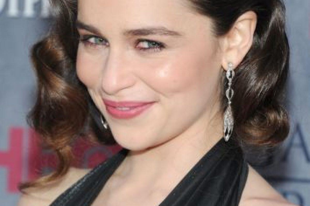 """Para su personaje en """"Games of Thrones"""" utiliza una peluca rubia Foto:Getty Images. Imagen Por:"""