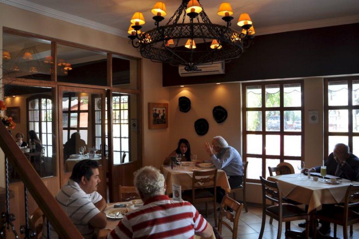 Uno de los salones del Guria Foto:Mikel Zulueta. Imagen Por:
