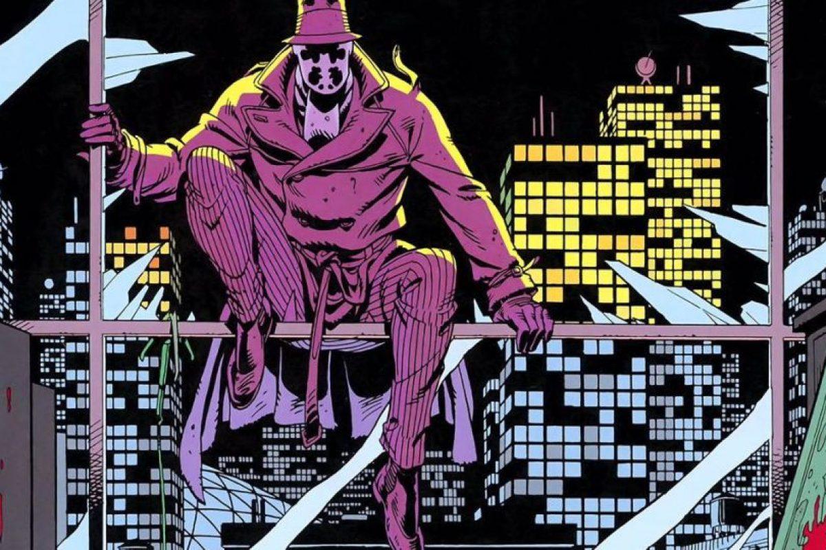 Rorschach es en verdad un justiciero, pero sus conceptos de justicia se mezclan entre la venganza y un concepto de moral muy personal. Foto:@natepoor. Imagen Por: