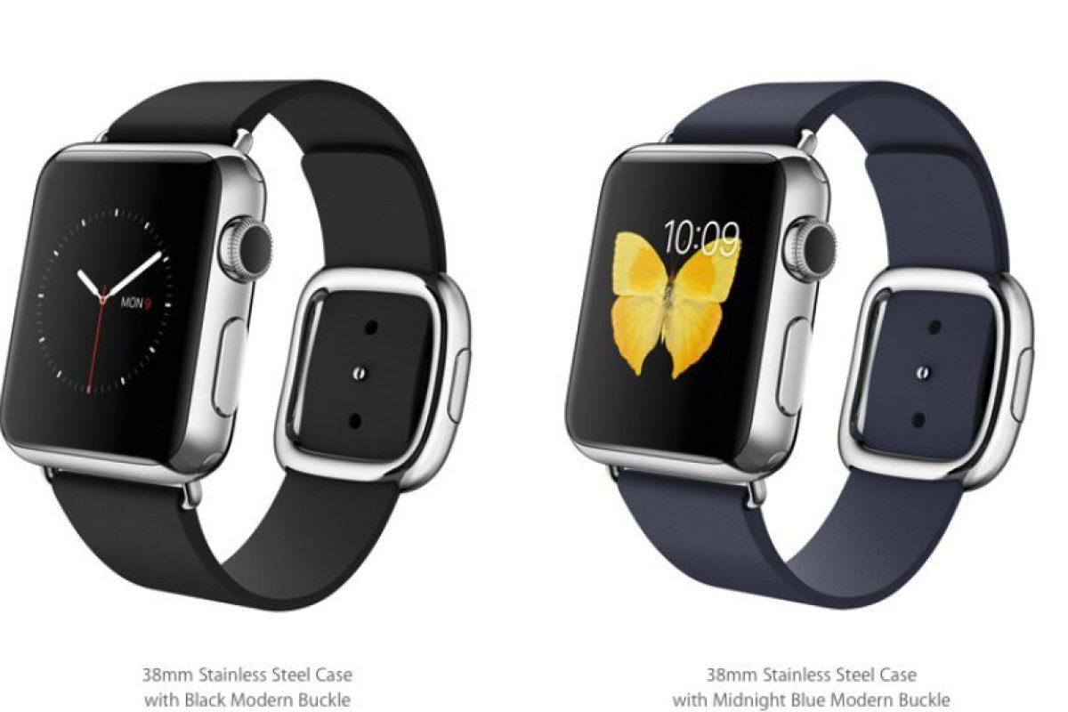 """En la versión 38mm saldrá el """"Midnight Modern Buckle"""". Foto:Apple. Imagen Por:"""
