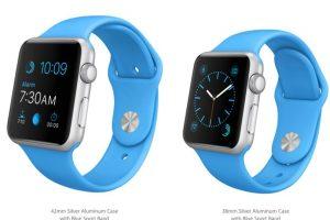 Versión banda azul. Foto:Apple. Imagen Por: