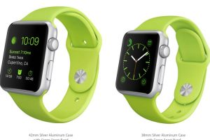 Verde. Foto:Apple. Imagen Por:
