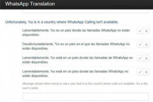 Este es el mensaje que confirma las sospechas. Foto:translate.whatsapp.com. Imagen Por: