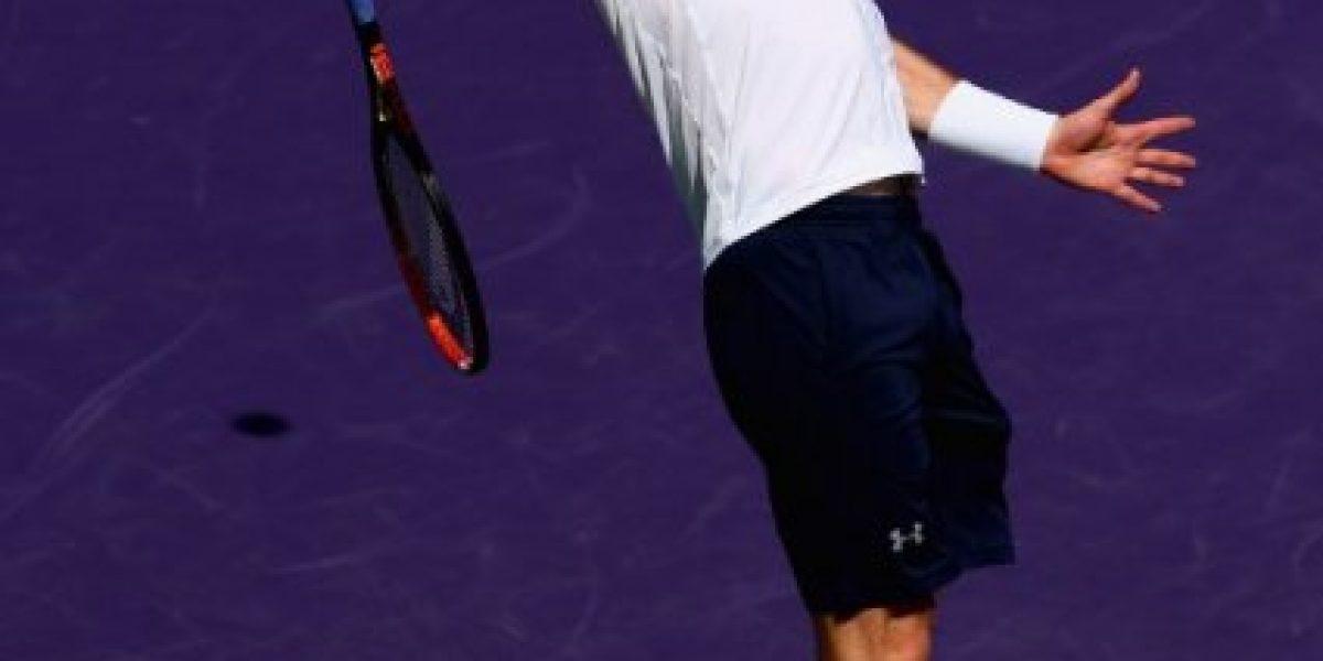Murray venció al colombiano Giraldo y avanzó a octavos del Masters de Miami