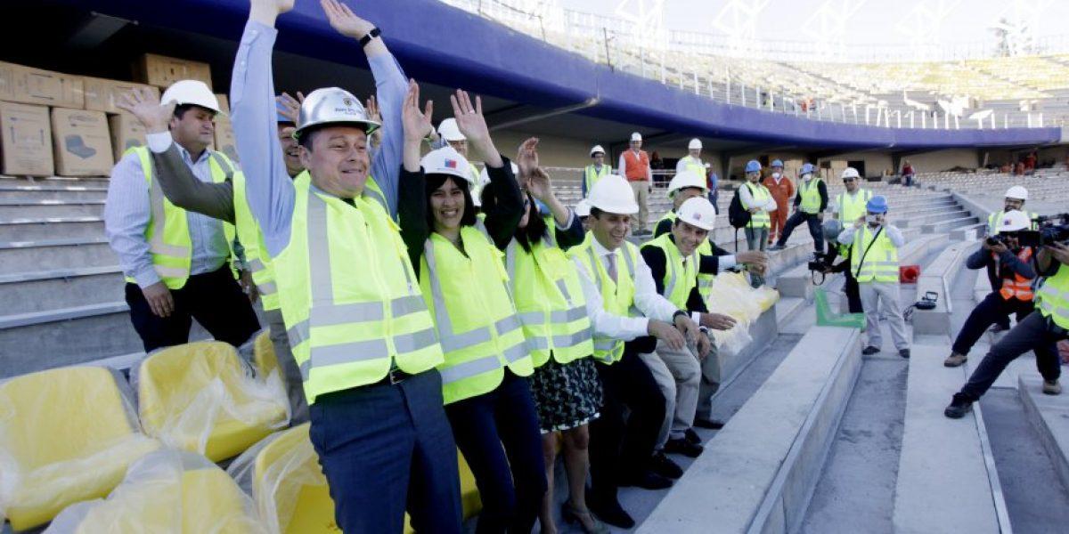 No paran los problemas: Se vuelve a atrasar la entrega del estadio Ester Roa