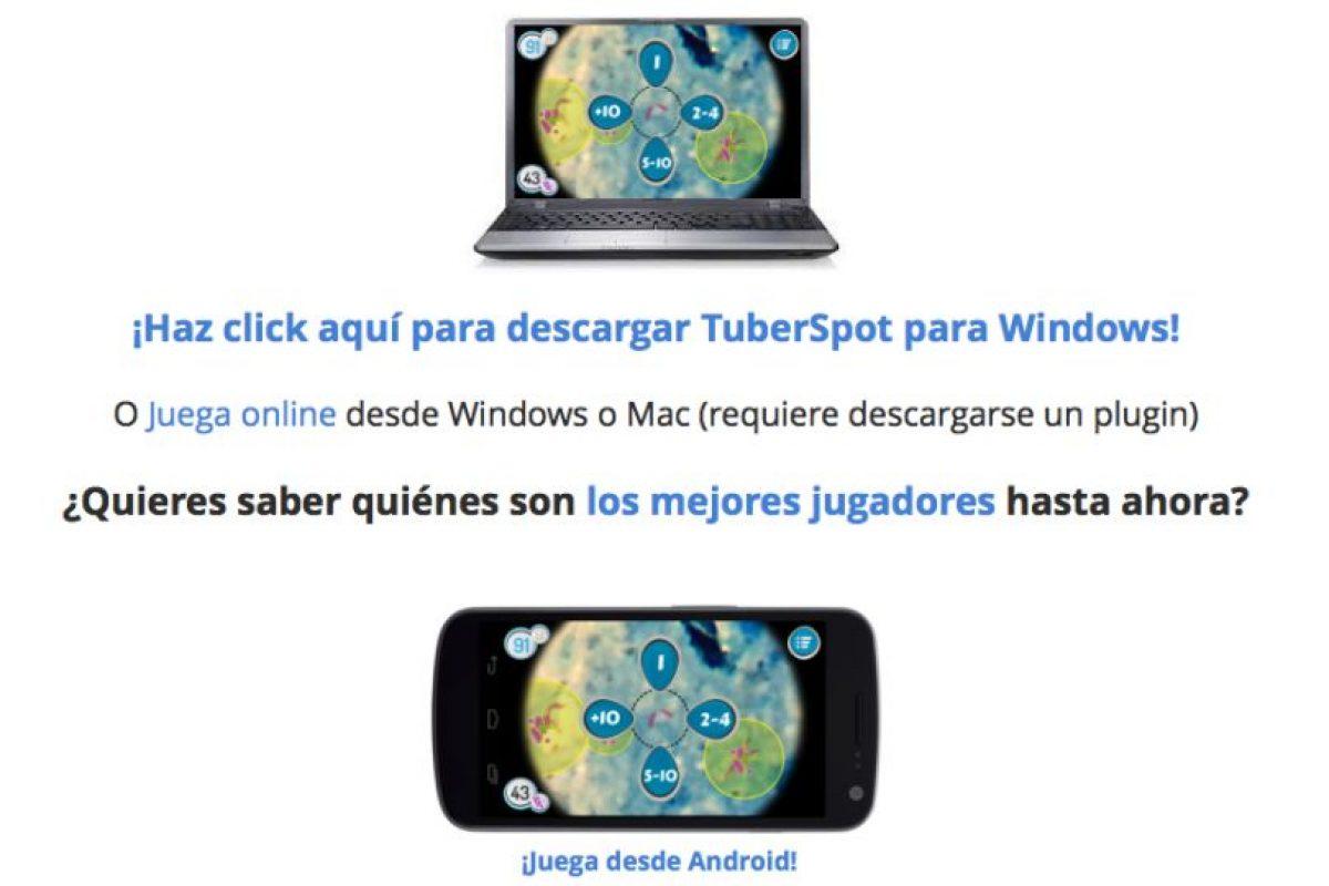Pueden jugarlo en PC, Mac o smartphone. Foto:tuberspot.org. Imagen Por: