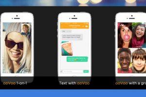 ooVoo es una app de mensajería muy popular para los usuarios de iPhone. Foto:oovoo.com. Imagen Por: