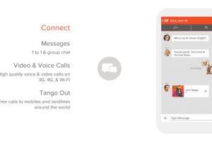 Tango es un servicio muy sencillo que ofrece llamadas, mensajes y video gratis. Foto:tango.me. Imagen Por: